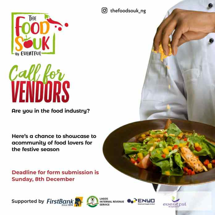 Food Lovers! Turn up for The Food Souk & Enjoy a Fun-filled Experience on Monday, December 23rd