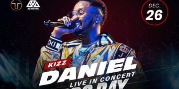 Here's how You can get Tickets to Kizz Daniel Live in Concert at 20% Discount