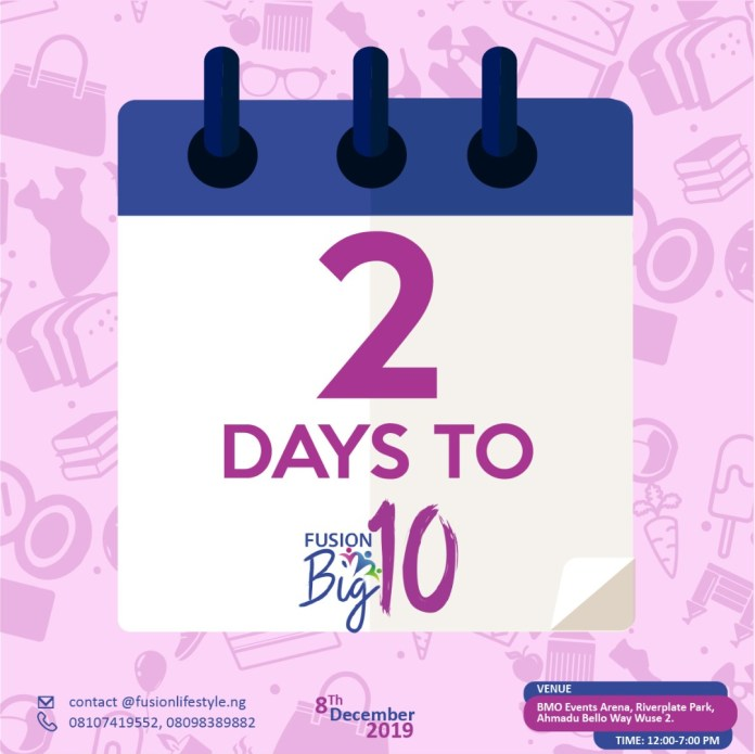 It's 2 days to FusionBig10! Who's Ready for this LifeStyle Family Fair on Sunday, December eighth?