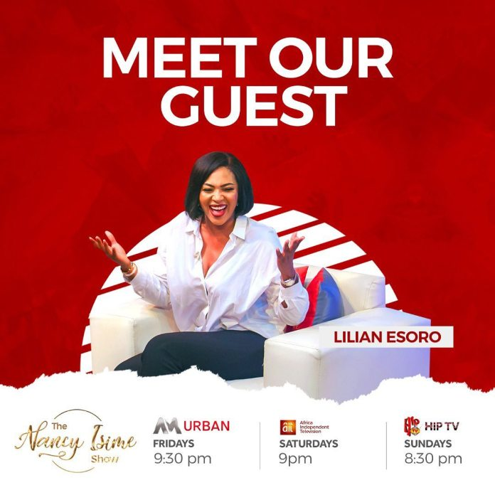 """Lilian Esoro is Such a Great Vibe in this Episode of """"The Nancy Isime Show"""" 