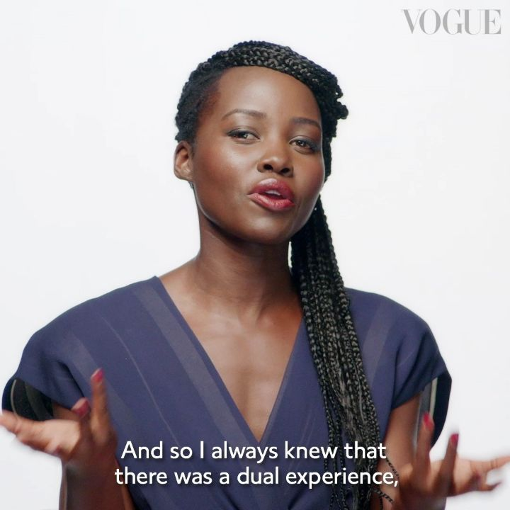 Lupita Nyong'o is the Cover Girl for British Vogue's February Issue | WATCH her BTS Shoot