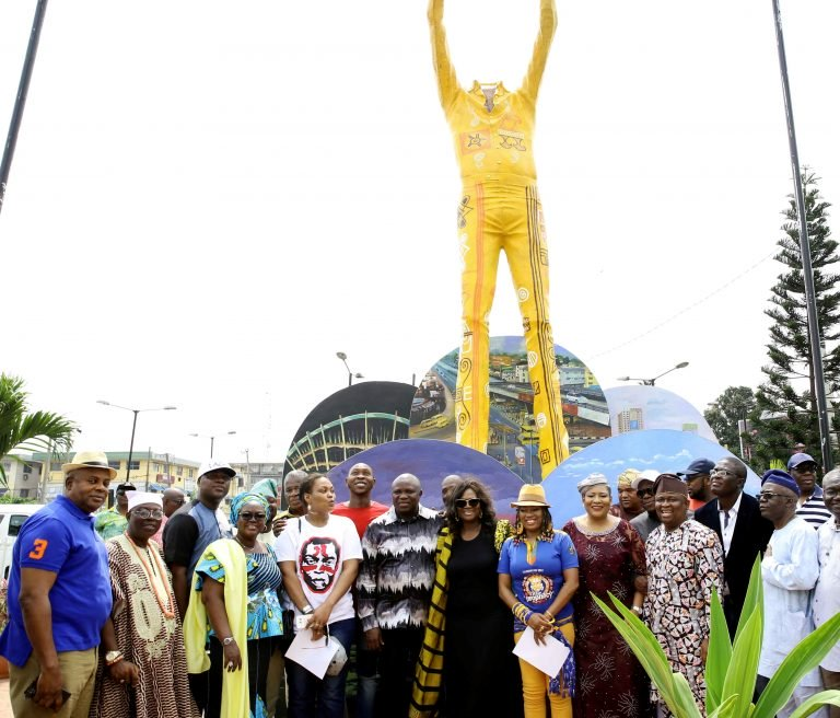 Here's Why Lagos State is Taking Down the Fela Statue At Allen Roundabout