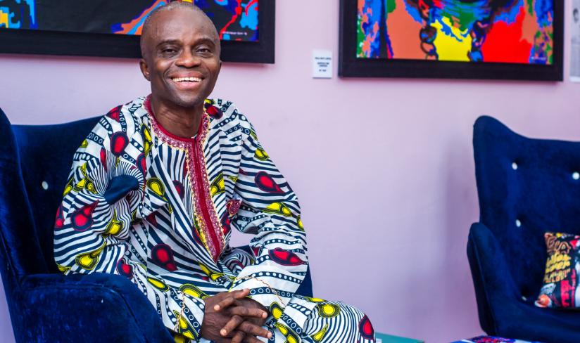 Living Legend Lemi Ghariokwu unveils his First Installation at Sao & The Muse