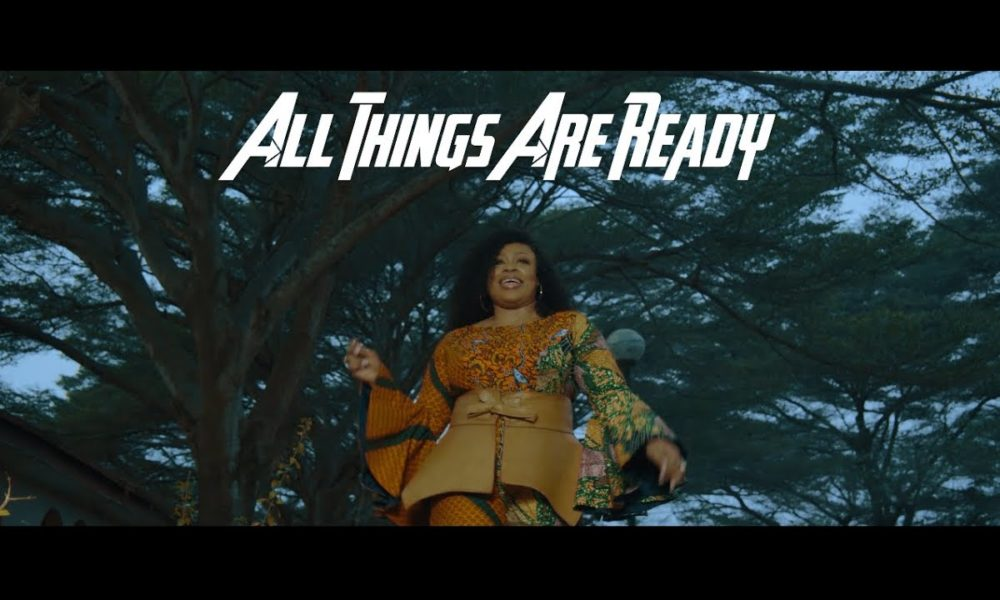 New Video: Sinach – All Things Are Ready