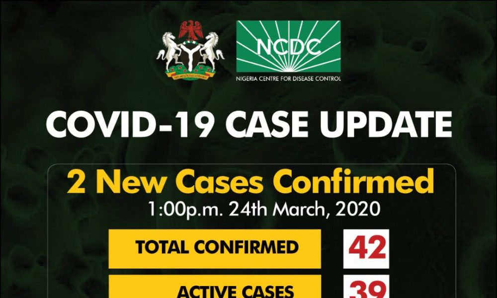 There are Now 42 Confirmed Cases of Coronavirus in Nigeria