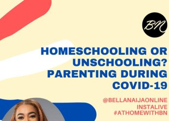 #AtHomeWithBN: Join Chika Okorafor Aneke as she Helps us Navigate Parenting during the Shutdown | April 9