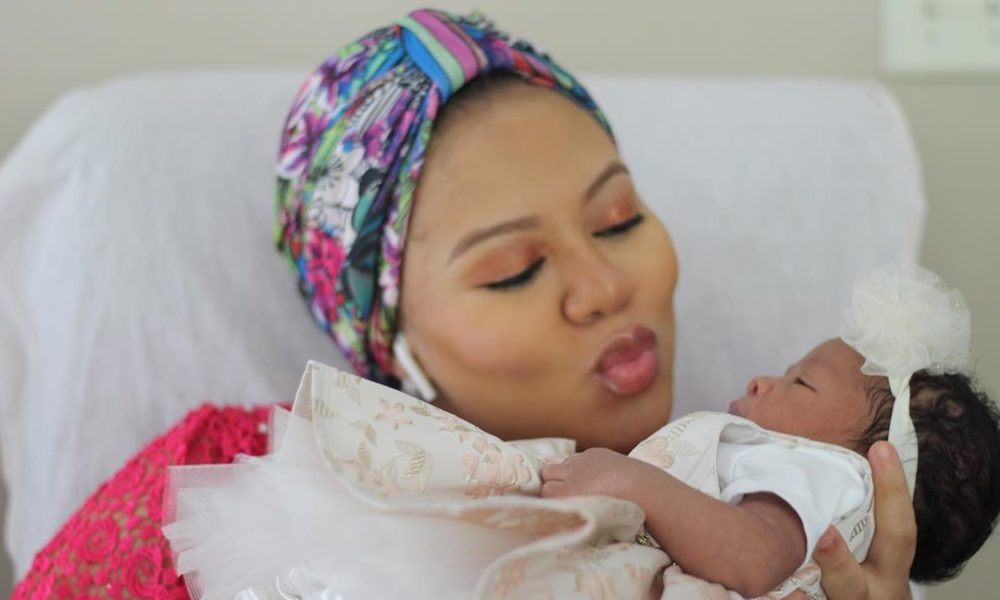 Mariam Bakre's Sweet Note to her Baby Girl Will Make You Beam