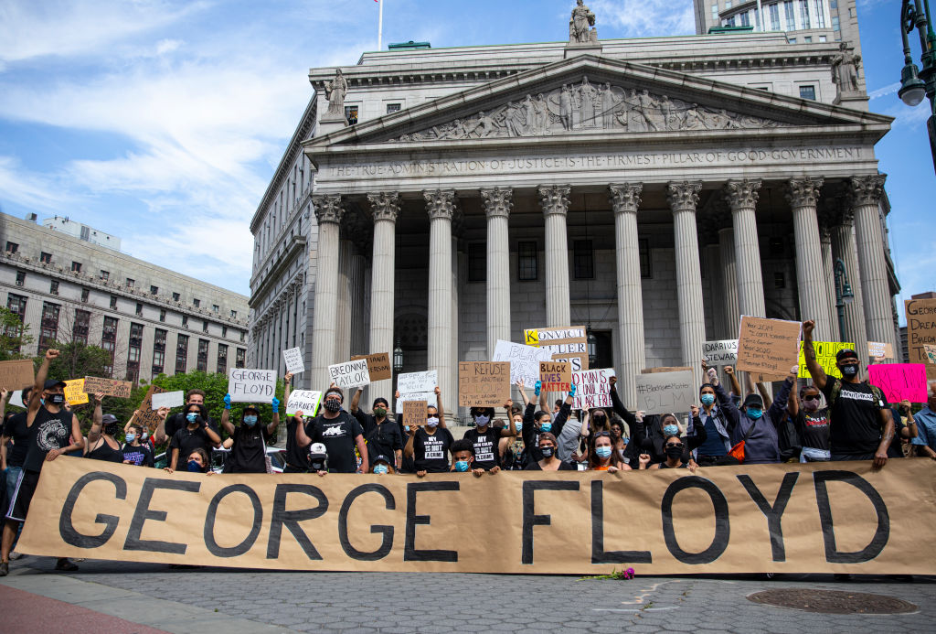 #JusticeforGeorgeFloyd in Photos: A Weekend of Widespread Protests across the World