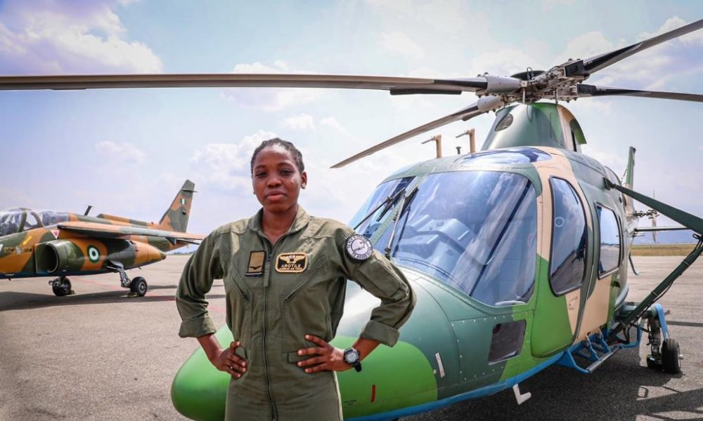 Buhari, Nigerians mourn the sad loss of First Female Combat Helicopter Pilot, Tolulope Arotile