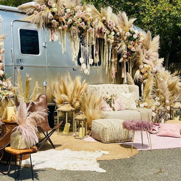 Eniko And Kevin Hart Living The Dream With Their Boho-Themed Baby Shower 3