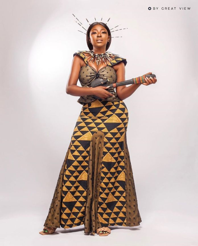 Yvonne Jegede Recreates 'African Queen' Looks To Celebrate 16 Years In The Industry 1