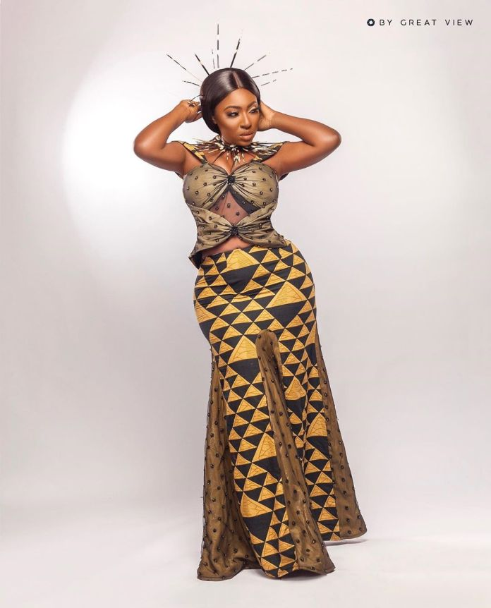 Yvonne Jegede Recreates 'African Queen' Looks To Celebrate 16 Years In The Industry 2