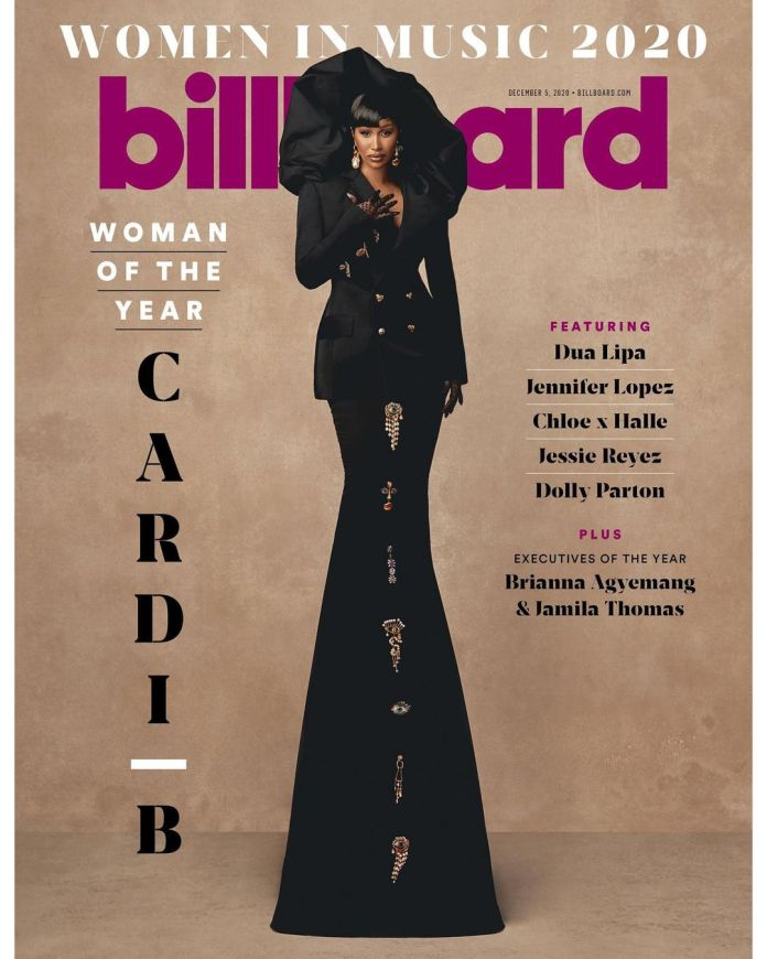 Cardi B Talks WAP, Politics And Business On Her Cover Feature As Billboard Woman of The Year 2020 1