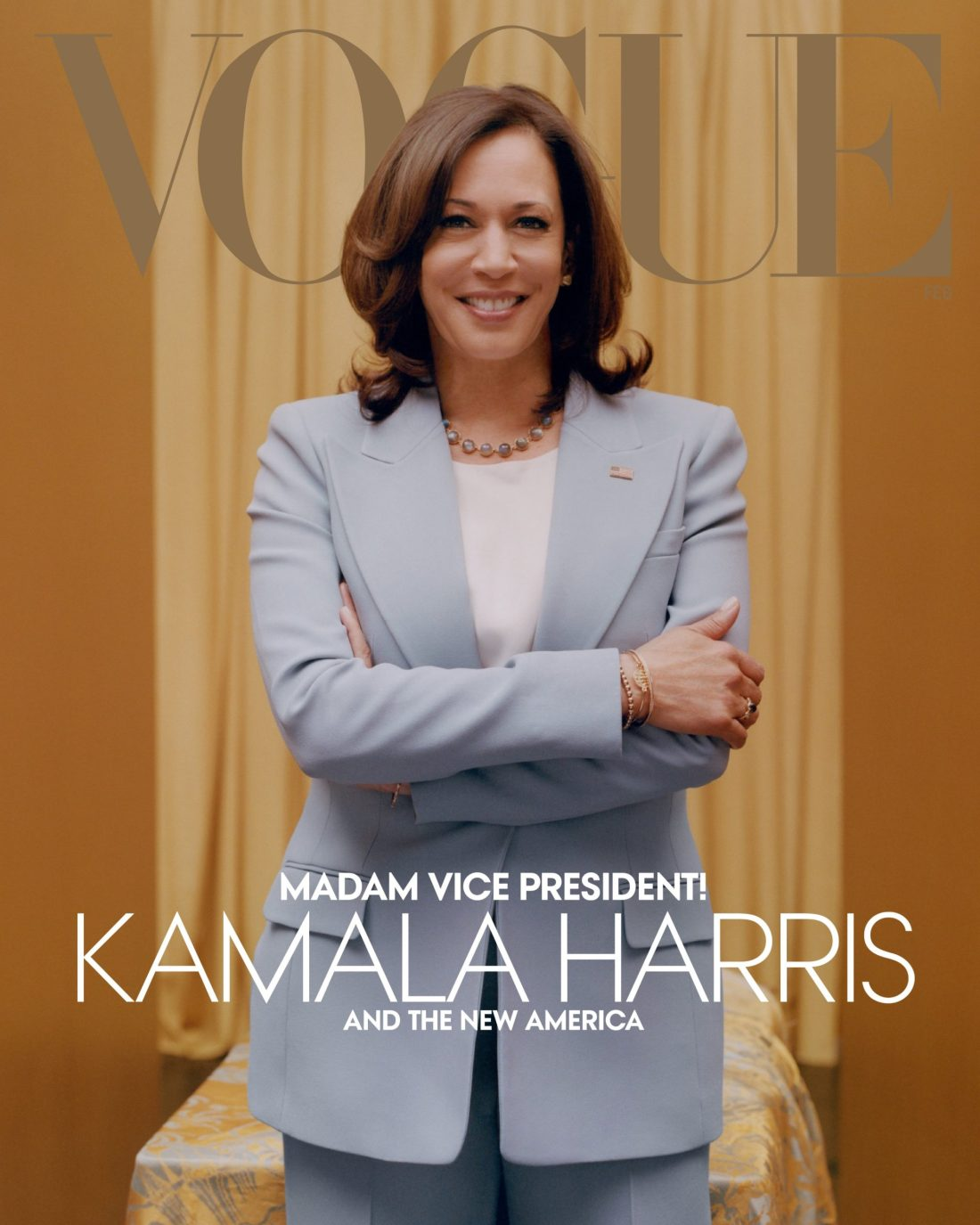 Kamala Harris Cover Shot For Vogue's February Issue Draws Controversy