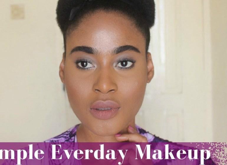 Simple Everyday Makeup by Barbara1923
