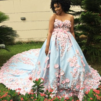 Full Length and Fabulous in Weddings by Mai Atafo