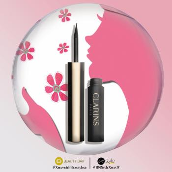 WIN this Clarins Instant Liner in thies Giveaway for the Perfect Cat Eye this Christmas!