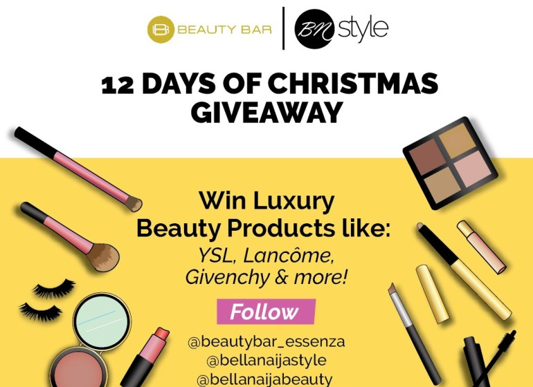WIN Luxury Beauty Products in the #BNStyleXmas17 x Beauty Bar 12 Days of Christmas Giveaway!
