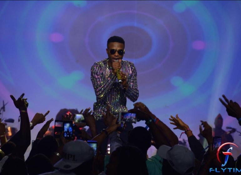 Style Moments from Wizkid The Concert Last Night!