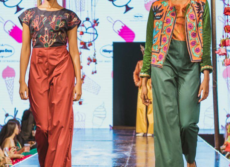 Highlights from Nairobi's Fashion High Tea Runway Show