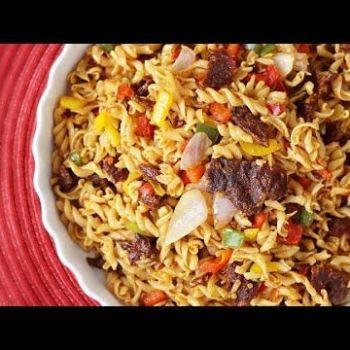Ever tried Suya & Pasta? Try Sisi Yemmie's Italian Naija Medley
