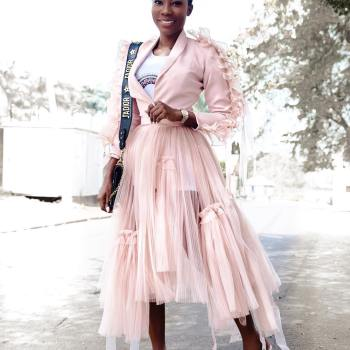 OG Okonkwo in Style Temple: The Designer As Her Muse