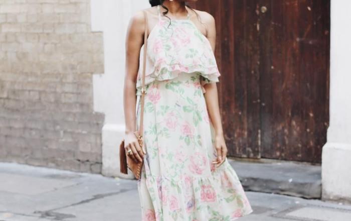 10 Times Sade Made us Love her Vintage Floral Frocks