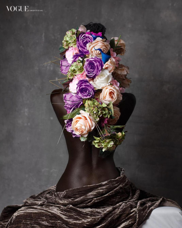 pholoshop recreated Vogue agazine covers