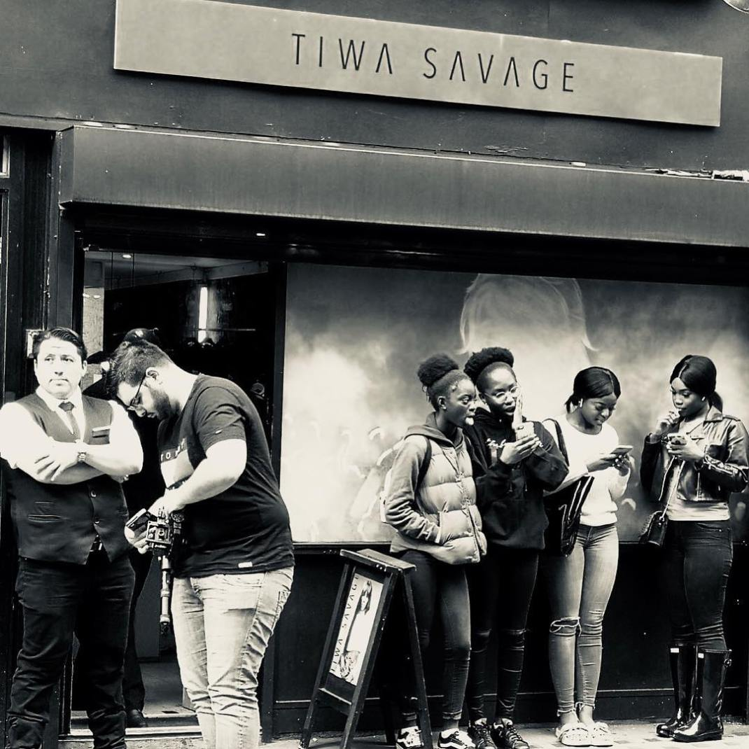 tiwa-savage just dropped her new merch in London