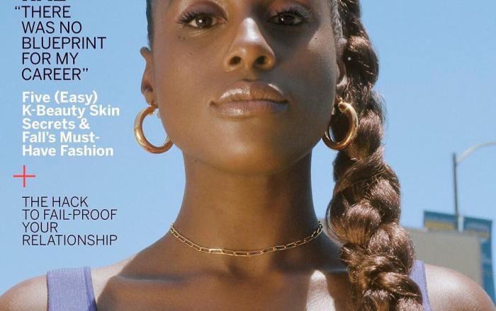 Issa Rae's Glamour Magazine cover
