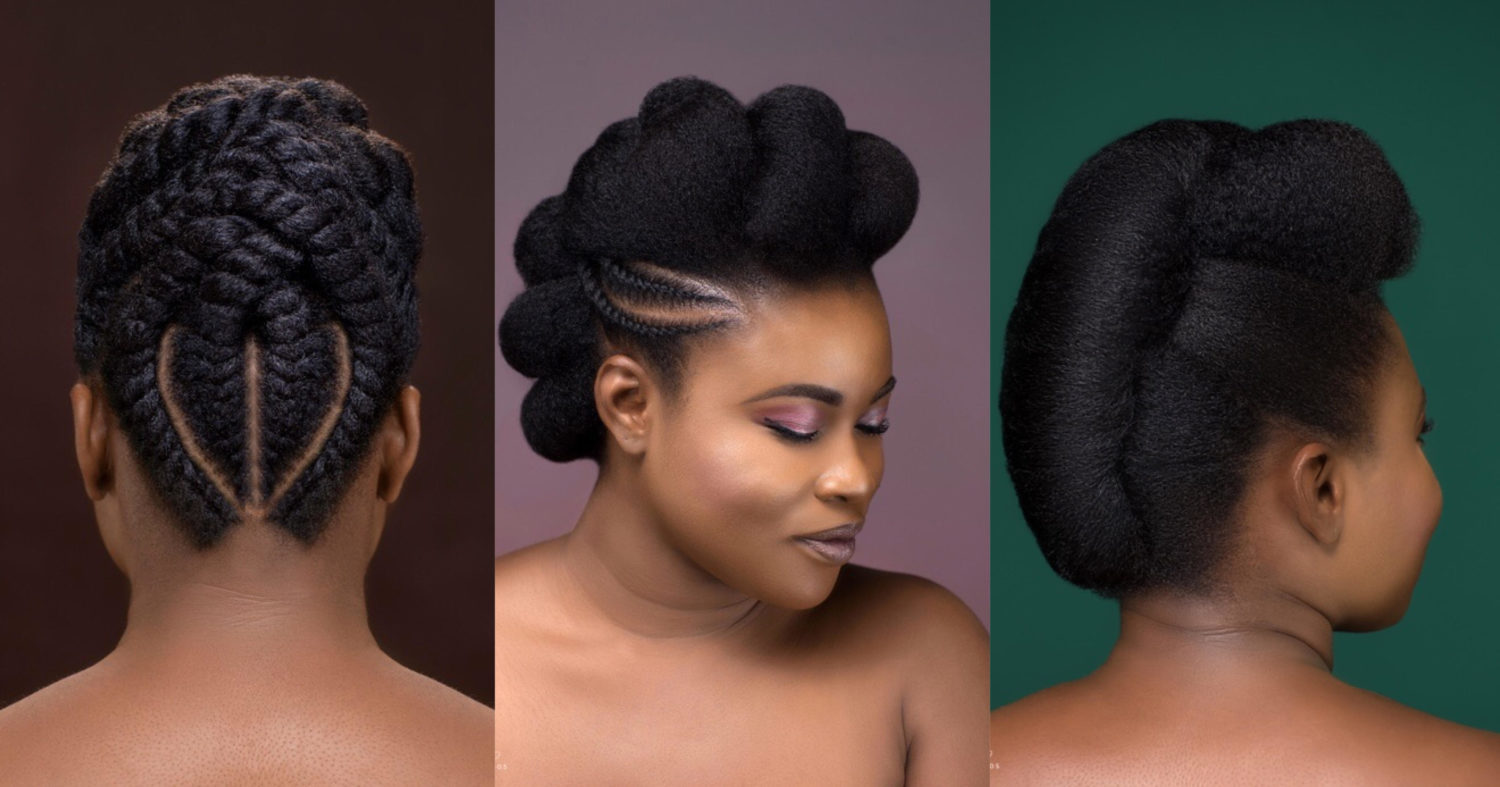 Kls Naturals Gives A Directional Twist To Classic Hairstyles In