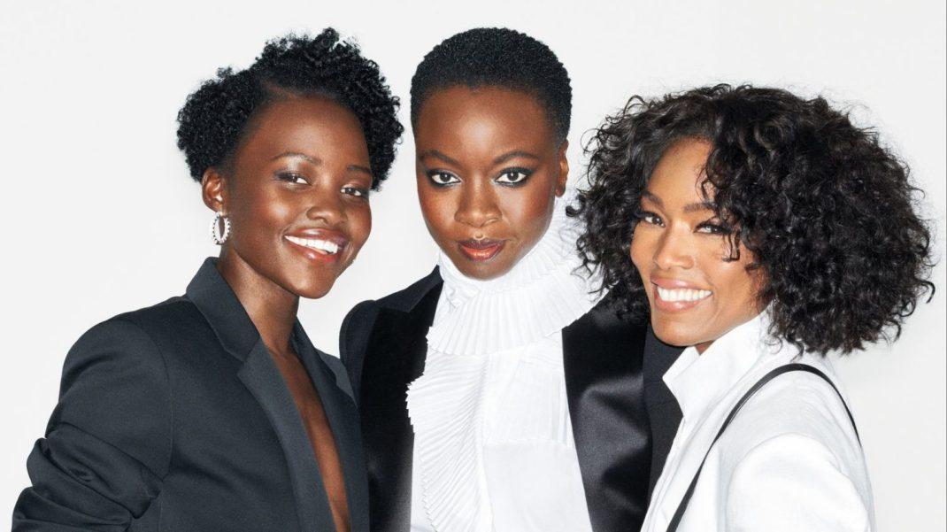 Lupita Nyong'O, Dania Gurira and Angela Bassett