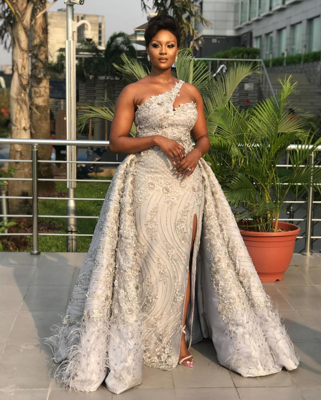 This is what Osas Ighodaro Ajibade wore to the Film Gala