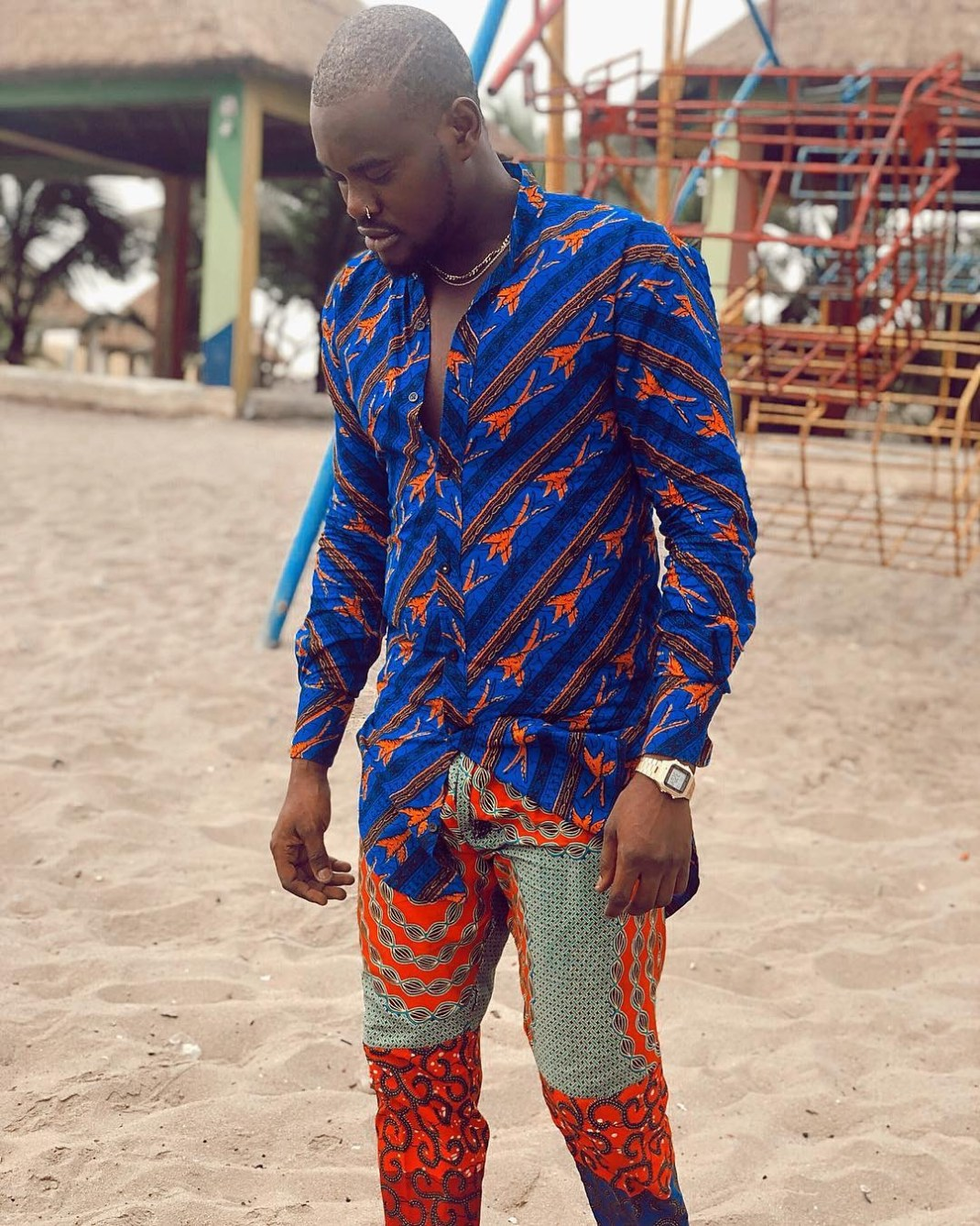 How to wear ankara for guys
