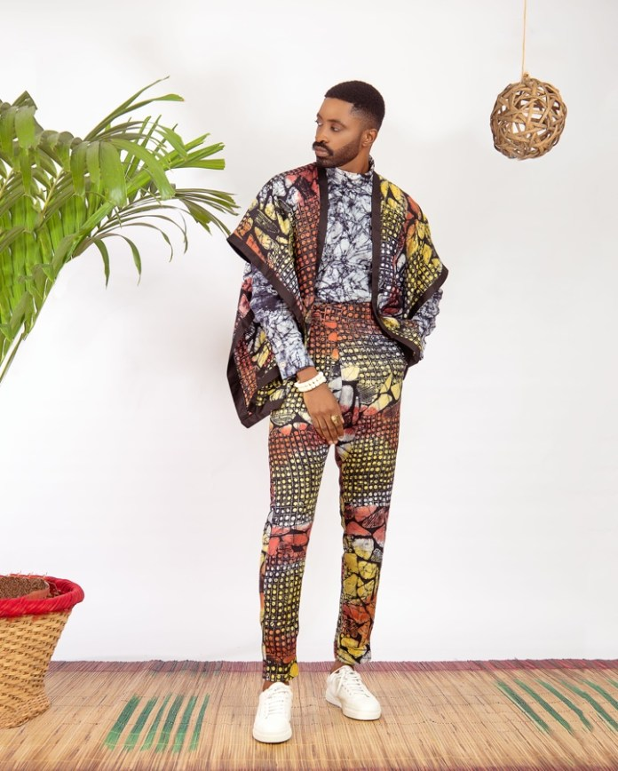 Ric Hassani x Patrickslim Just Took Traditional Adire Fabric To A Whole New Level!