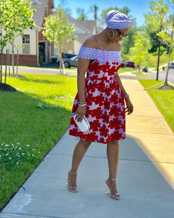 too much sauce! look perfect to any place in these amazing ankara styles TOO MUCH SAUCE! LOOK PERFECT TO ANY PLACE IN THESE AMAZING ANKARA STYLES 00
