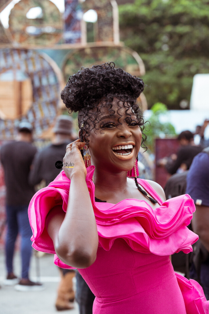 Over 22 Outfit Ideas from Day 3 of Lagos Fashion Week 2019 to Unleash Your Inner Street Style Star - See ALL the Seems to be! | BN Style