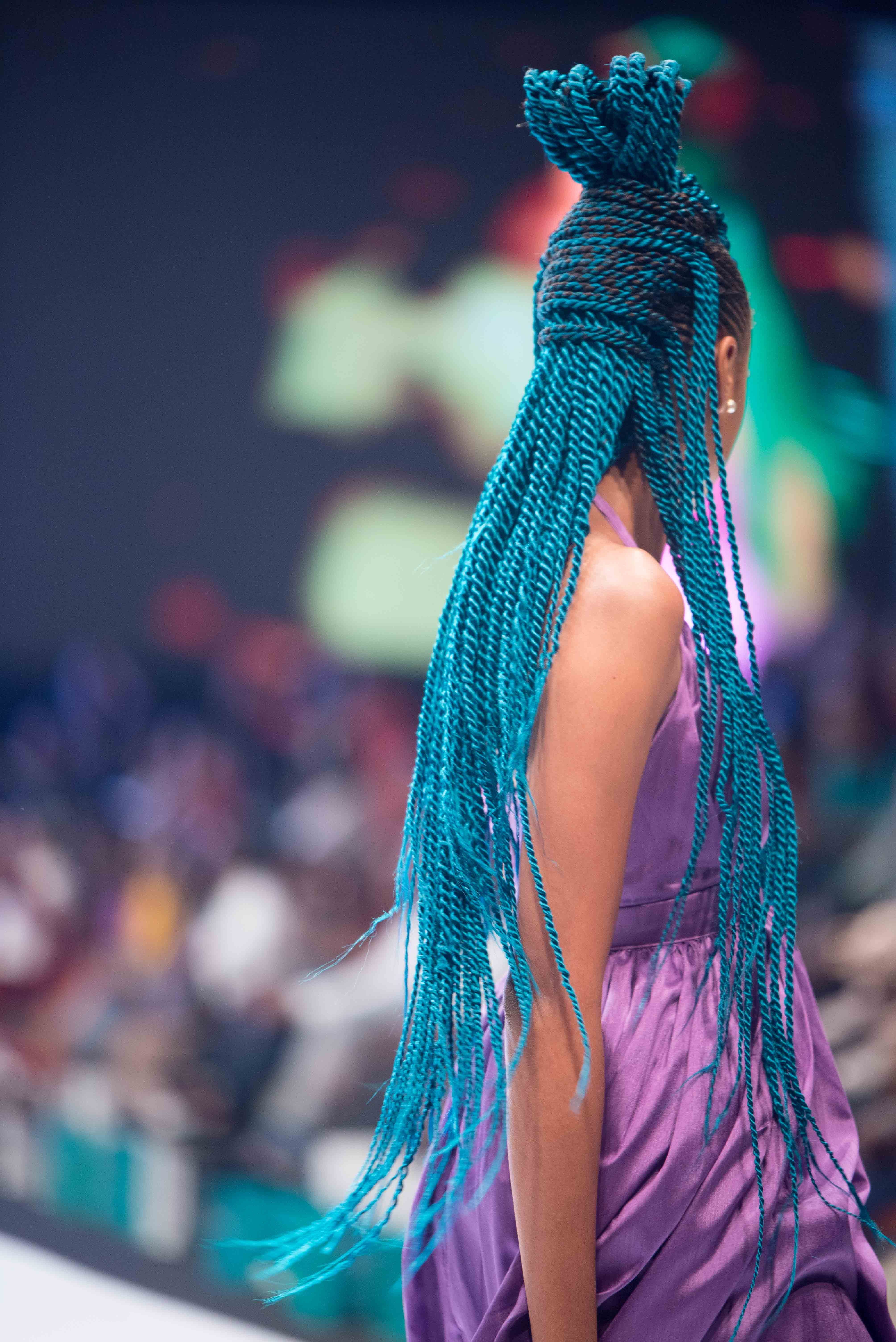 The Best Hair Looks from Lagos Fashion Week 2019 by Darling | BN Style