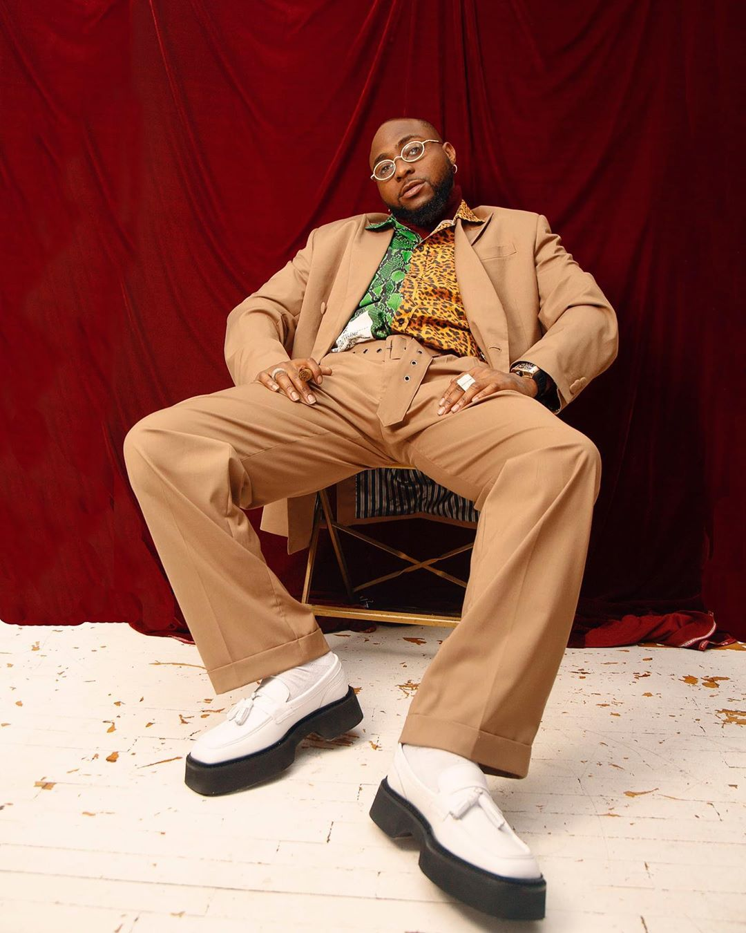 Watch: All The Must-See BTS Moments From Davido's GQ South Africa Shoot