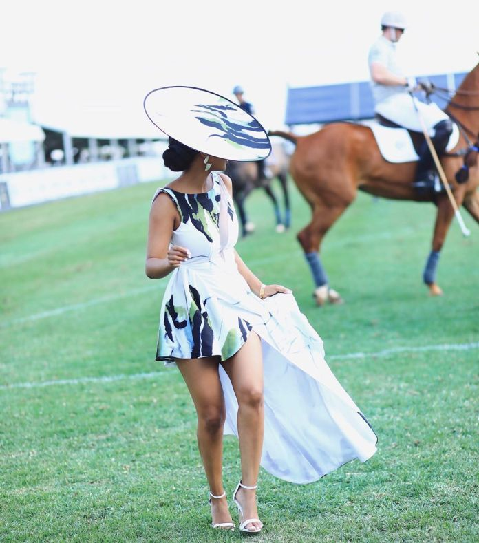 Ayanda Thabethe Is Here to School Us on How to Do Timeless Polo Fashion