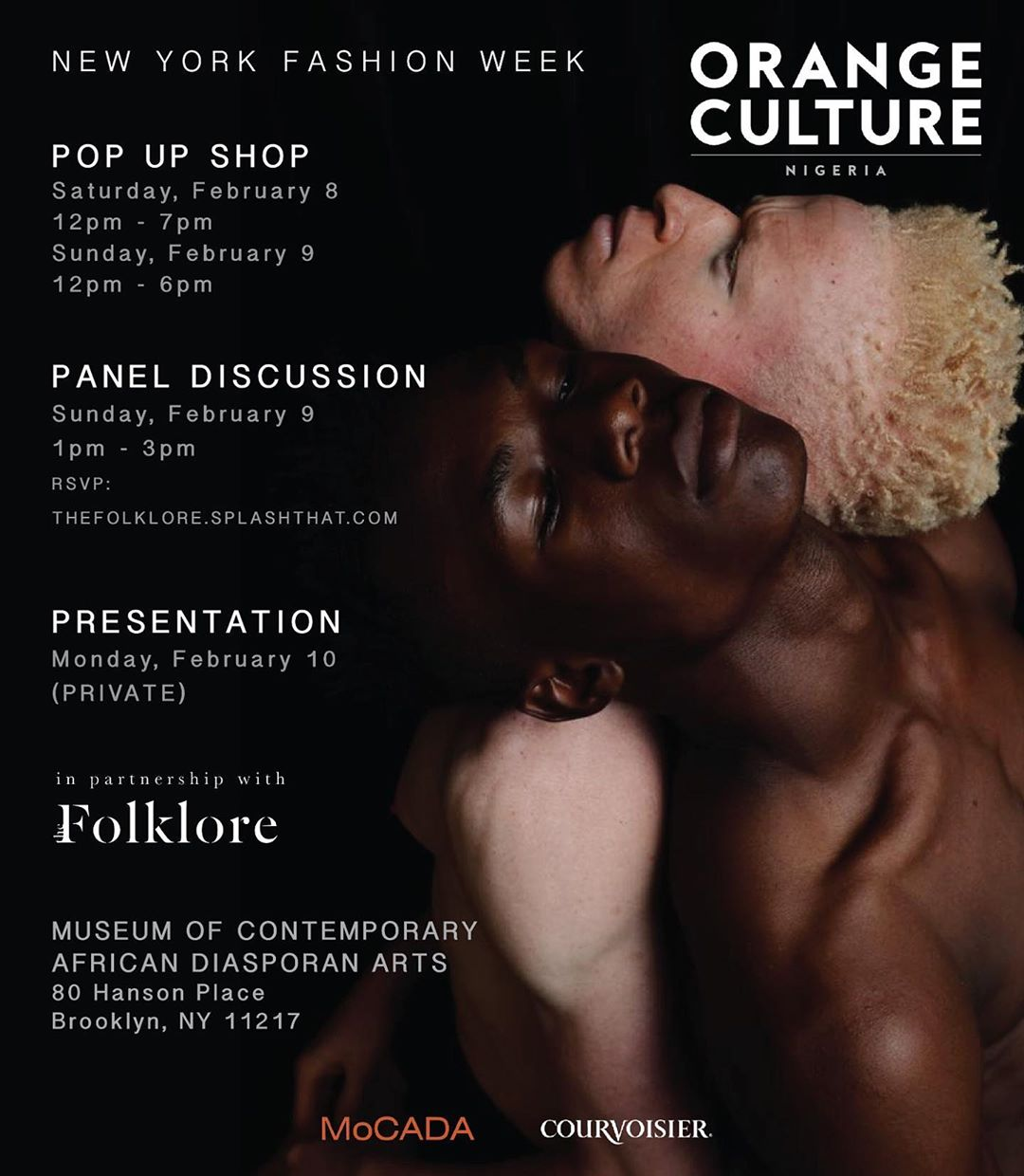You're Invited! Orange Culture's NYFW Fall 2020 Presentation, Pop Up Shop & Panel Discussion | BN Style