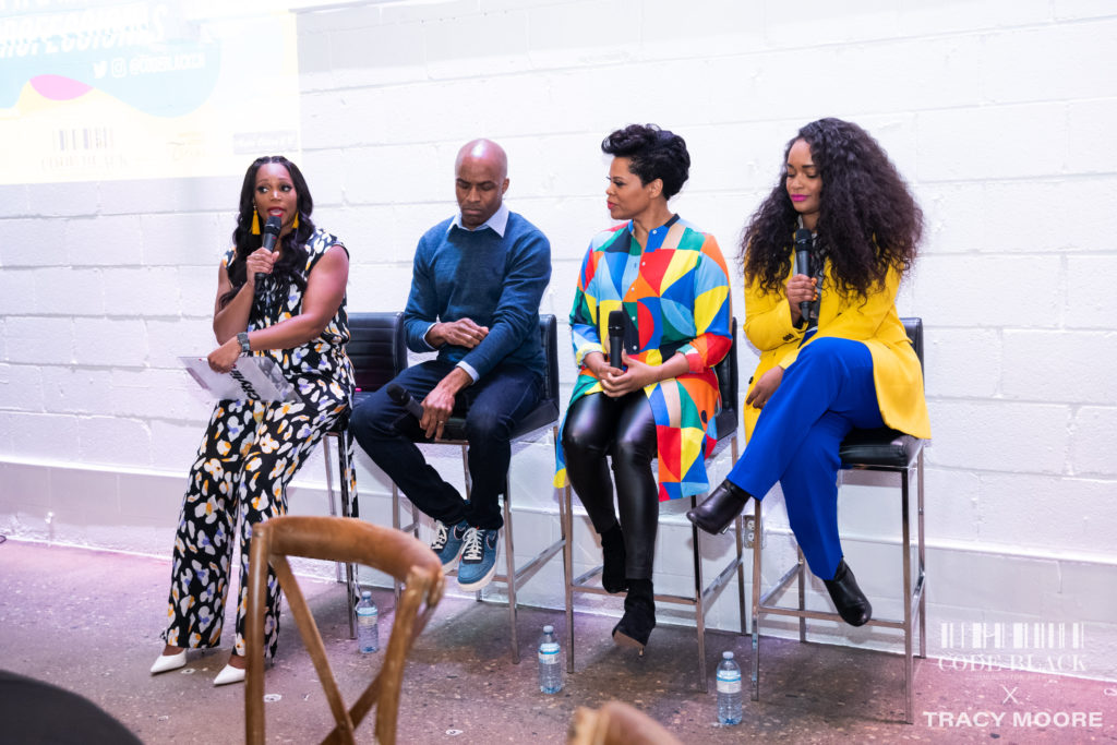 Inside the Powerful & Thought Provoking Code Black x Tracy Moore Event | BN Style