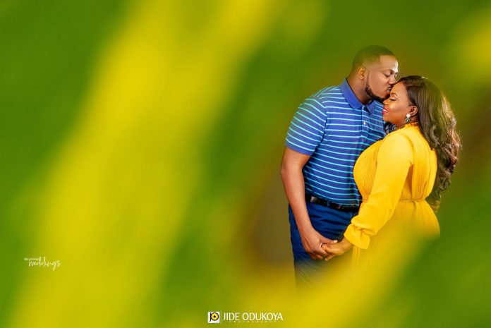 I Just Knew She was the One! Read Modupe & Babatunde's Love Story + Pre-wedding Photos