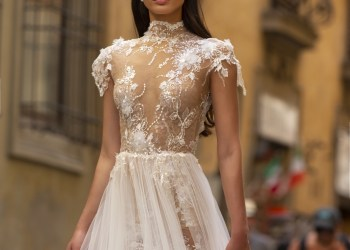 The Muse Collection by Berta is for the Chic and Comfy Bride