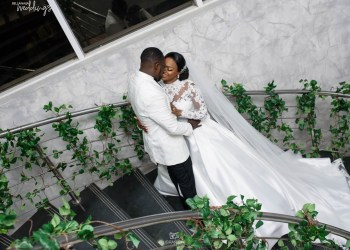 Latifah & Ayodele's White Wedding will Captivate you in a Sec