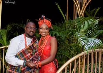 You've Got to Love the #AWholeLATofLove Nikkai and Traditional Wedding