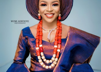 Here's how you Rock a Two-toned Reflective Asooke on Your Trad