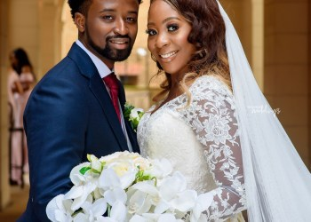 YES to Love at Sharon and Seun's White Wedding