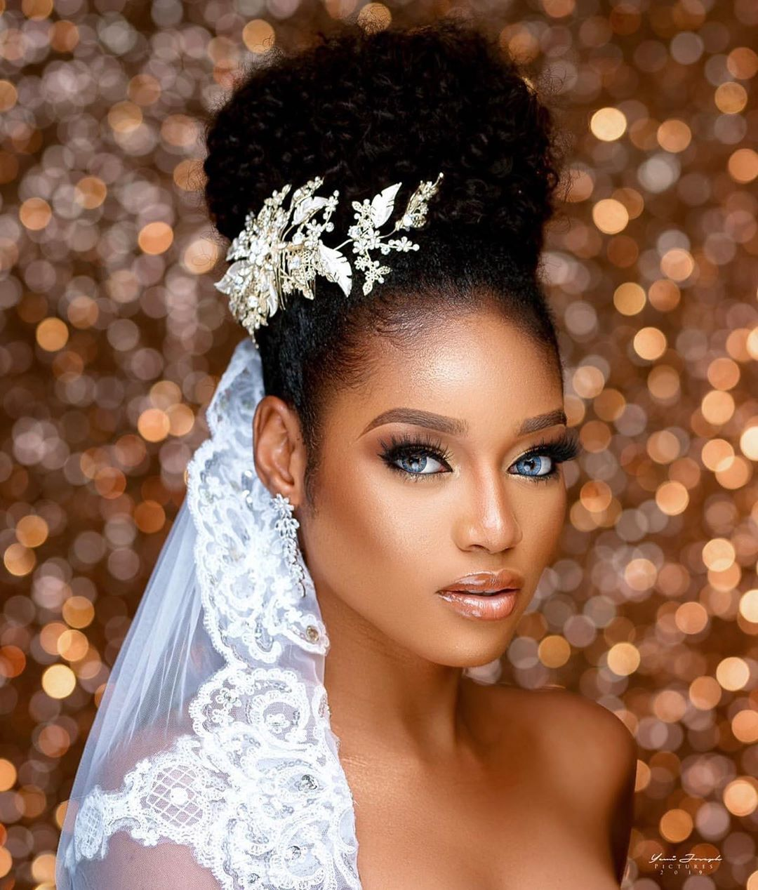 Be a Natural Glam Bride like the 43rd Miss Nigeria on your Wedding Day