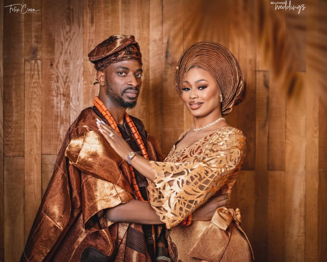 See all the Amazingness from 9ice & Olasunkanmi's Wedding